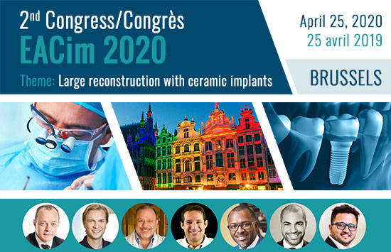 fr 2nd EACim Congress in Brussels - Large reconstruction with ceramic implants