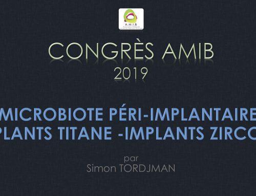 Peri-implant microbiotes Titanium VS Zirconia – lecture by Dr Simon Tordjman