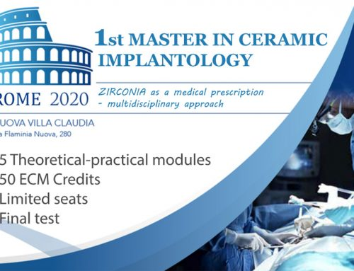 1st Master In Ceramic Implantology – Rome 2020