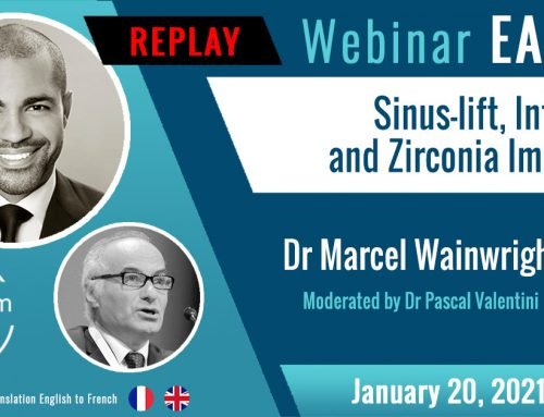 Webinar Sinus-lift, Intra-lift and Zirconia Implants by Prof. Dr Marcel Wainwright